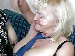Oldnanny täiskasvanud suur rind Masturboida chubby Granny